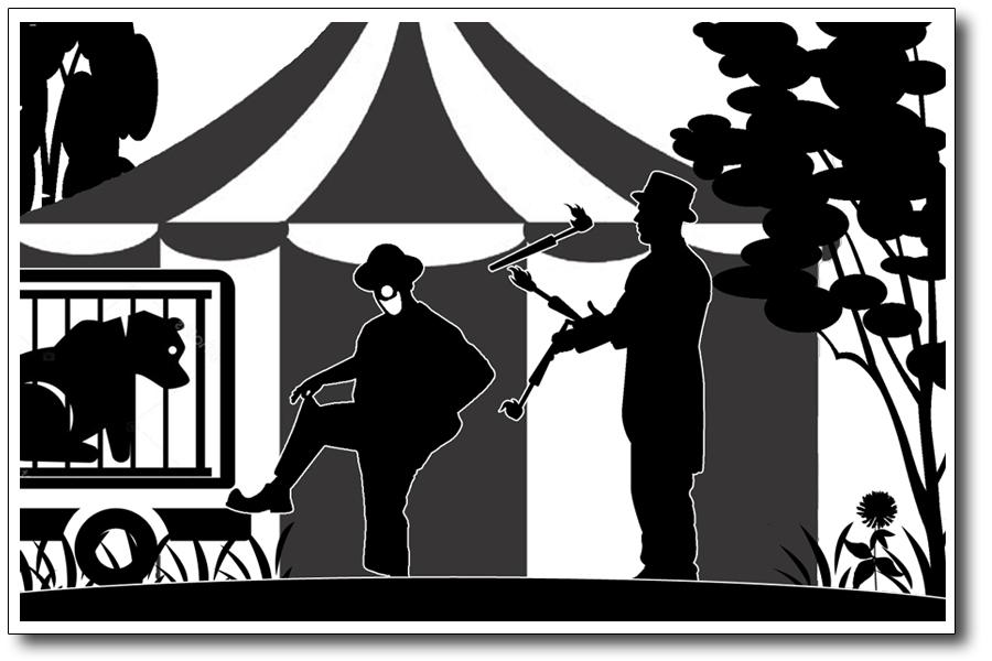 Morgelgeschichte 5 - Morgel und der kleine Zirkusbär